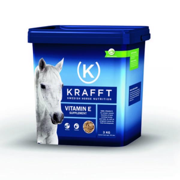 E-vitamin 3kg Krafft pour cheval