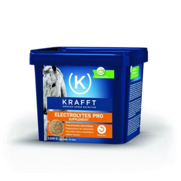 Electrolytes Pro KRAFFT pour cheval