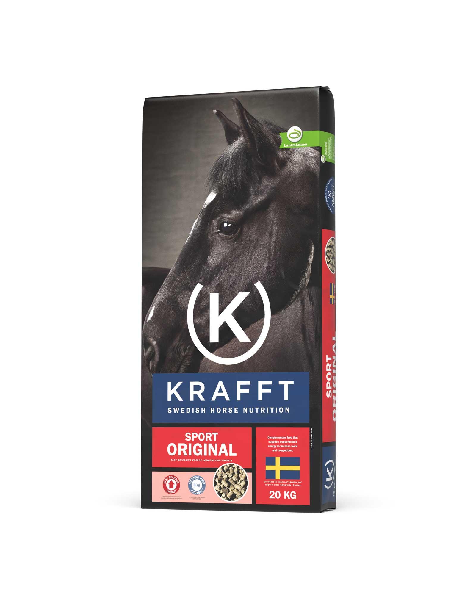 Granulés Sport Original Krafft 20 kg