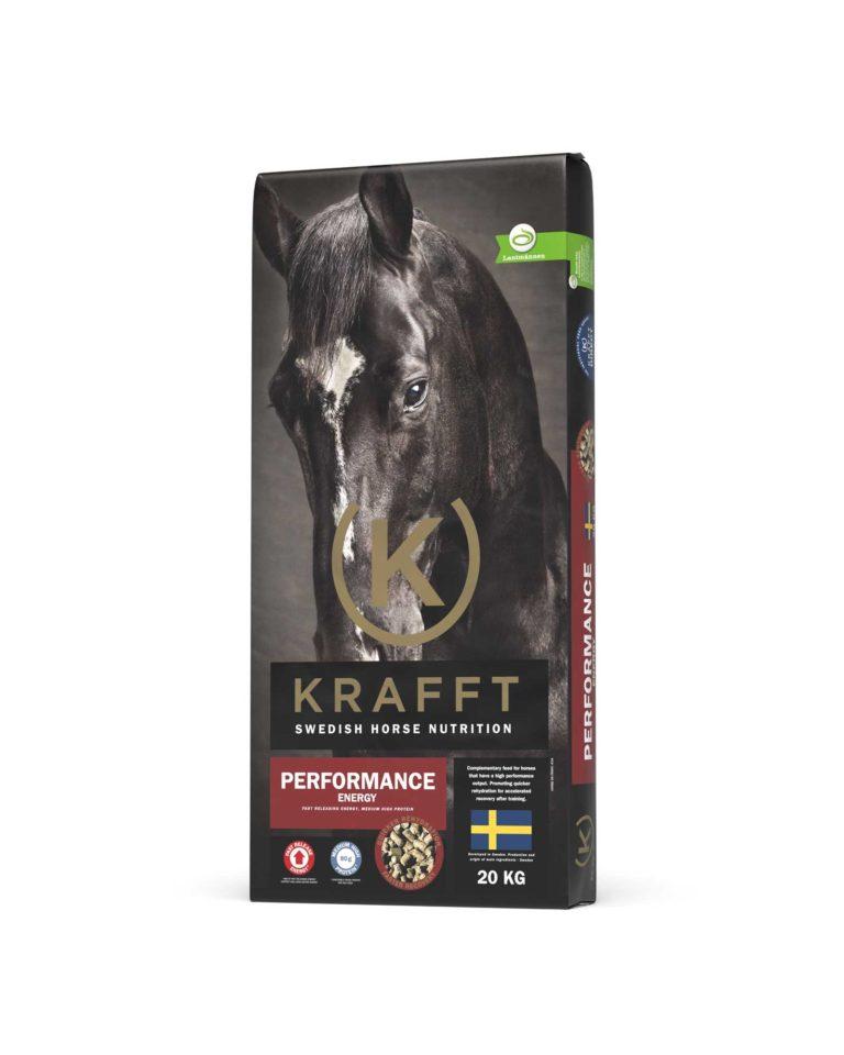 Krafft performance energy aliment cheval