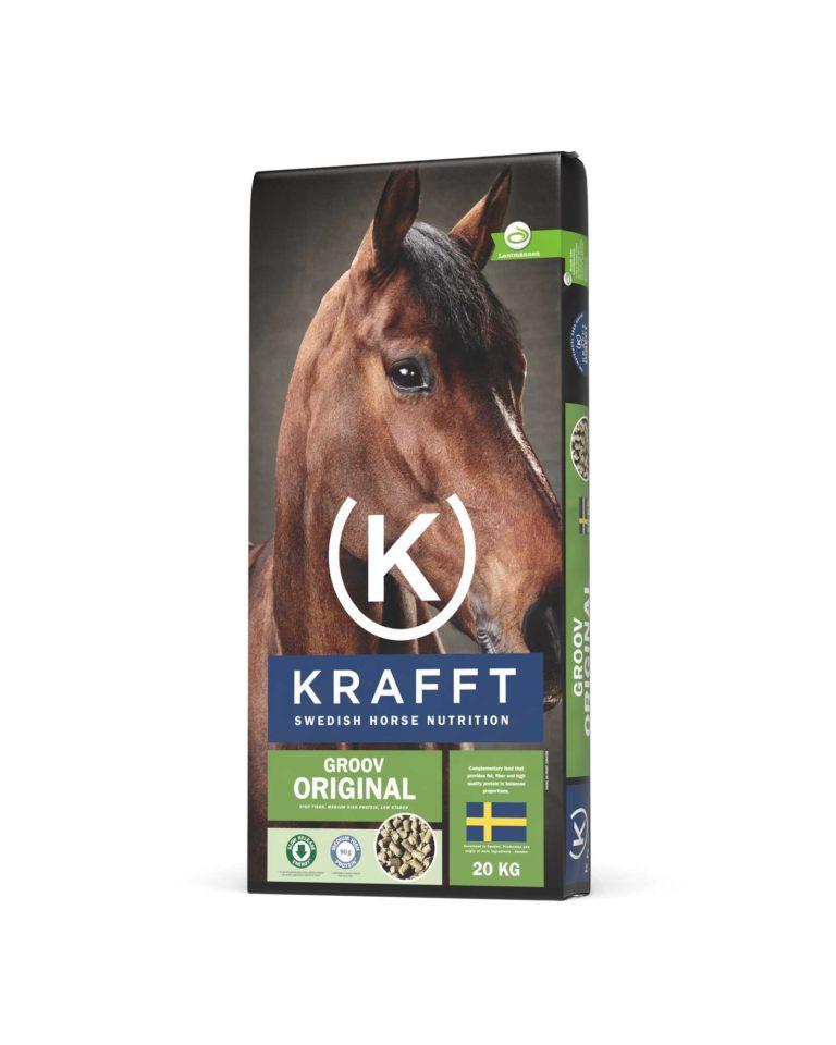 Krafft Groove Original alimentation cheval