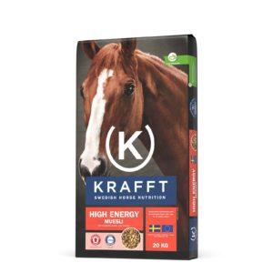 KRAFFT : high energy muesli pour cheval